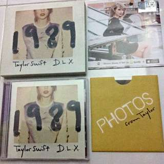 [SOLD] Taylor Swift 1989 D.L.X Album