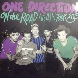 One Direction Official Tour Book