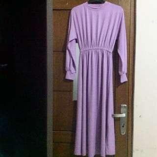 Purple Long Dress