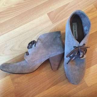 Steve Madden Grey Booties
