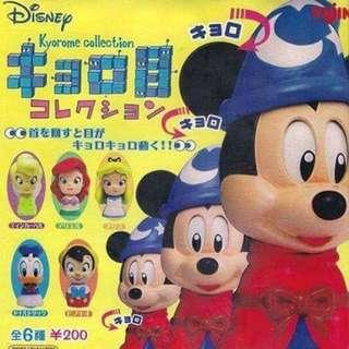 迪士尼 轉眼扭蛋 全新未拆封