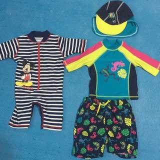 3-6 months baby swimwear