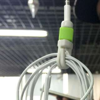 耳機線救星 i線套蘋果耳機線保護套 耳機收納收線繞線器
