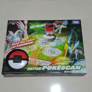 Takara Tomy Battle! Pokescan