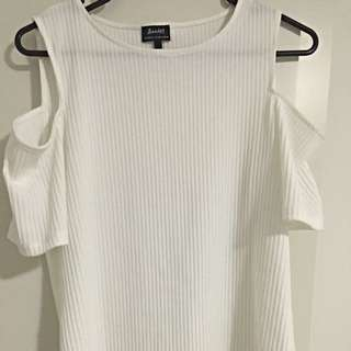 Bardot Ribbed Top