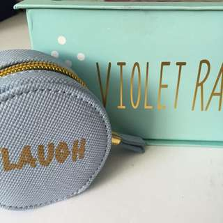 Violet Ray Coin Purse