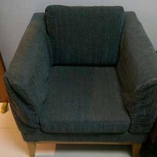 Comfortable Dark Blue Chair