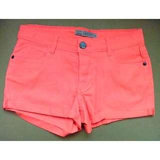 Zara Neon Shorts