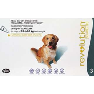 Revolution For Large Dogs (20.1 – 40Kg)