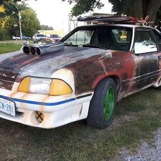 Rat Rod Mustang