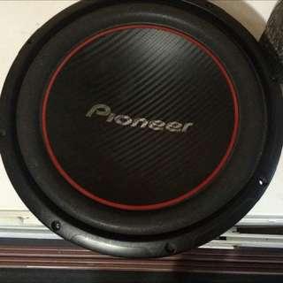 """10"""" Pioneer Sub"""