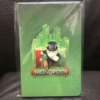 大富翁筆記簿 Monopoly Notebook