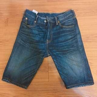 levis 501 原色 深藍 牛仔短褲