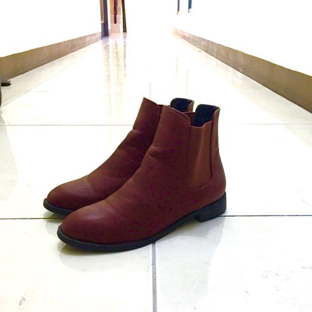 英倫個性短靴