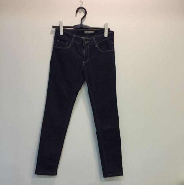 二手 NET 25 深藍牛仔褲