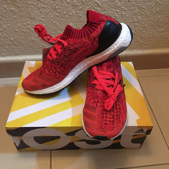 Adidas ultraboost uncaged red 1000% authentic SALE!!!