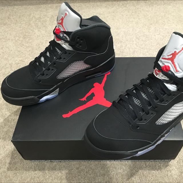 Air Jordan 5 OG silver black