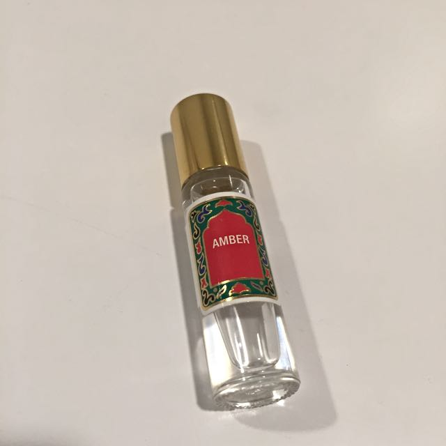Amber Roll On Perfume 10 ml