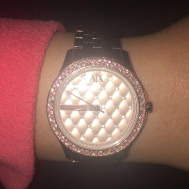 Armani Exchange Rose Gold Women's Watch
