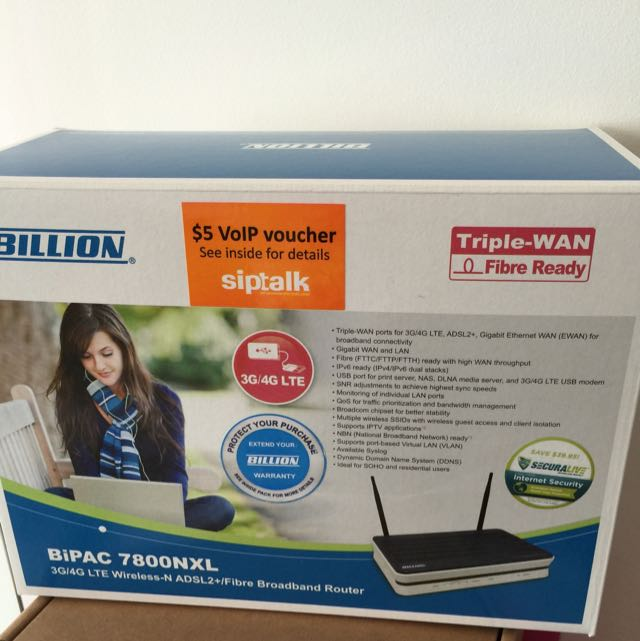 Billion Broadband Router