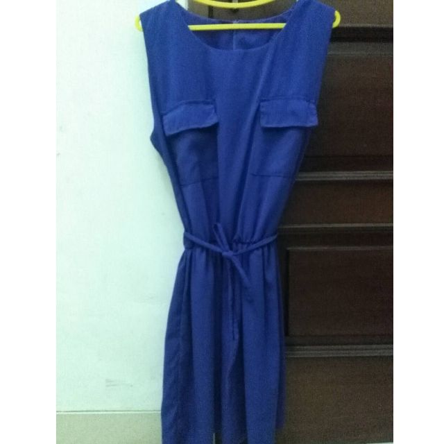 Blue Simply Dress