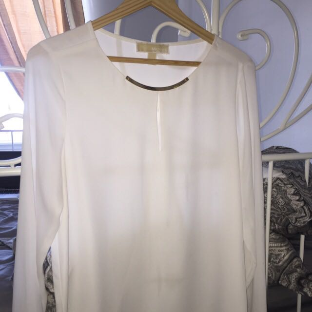 Brand New Michael Kors Silky Blouse