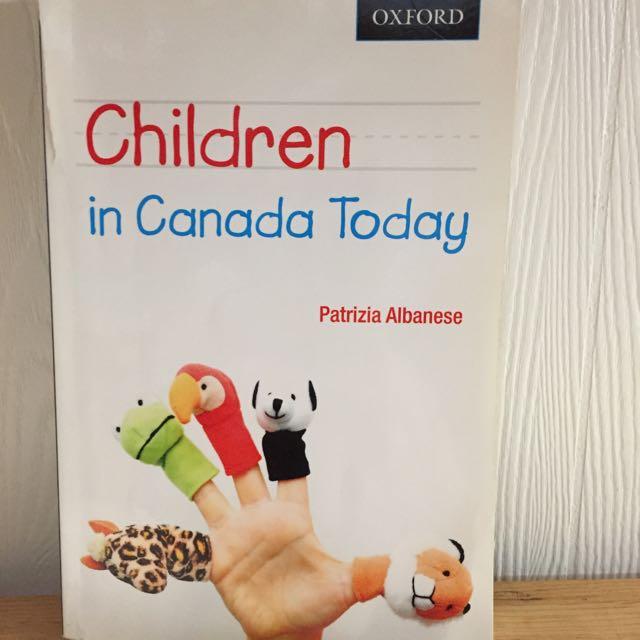 Children In Canada Today Textbook