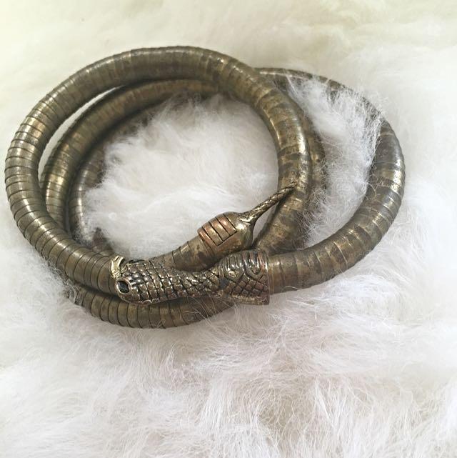 Cleopatra Spiral Arm Cuff