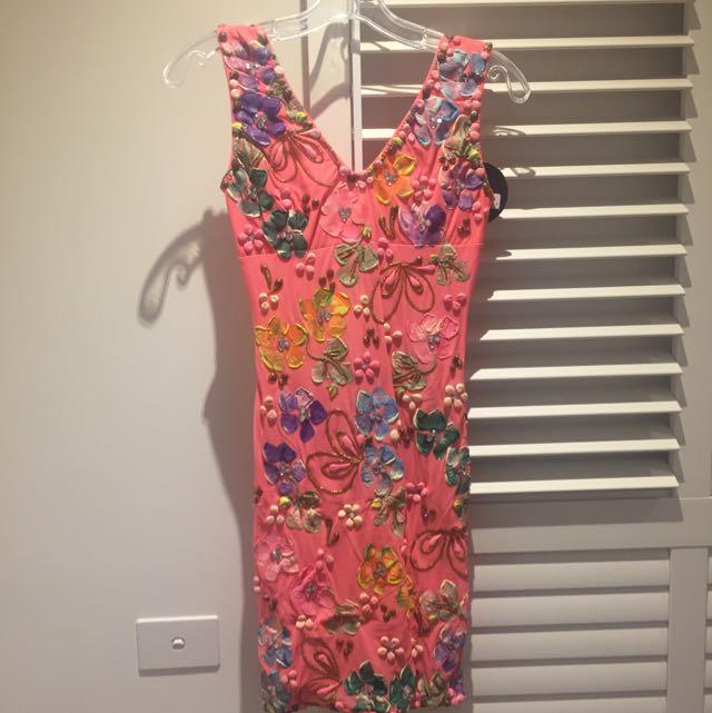 Coral Holt Dress