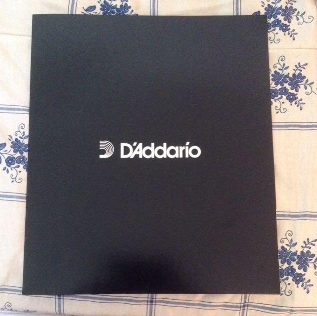 D'Addario Folder