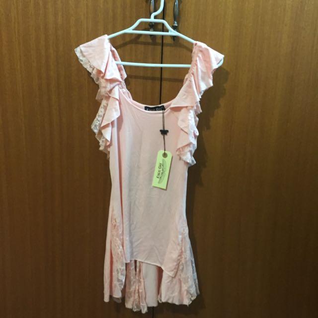 Face Off Pink Shirt