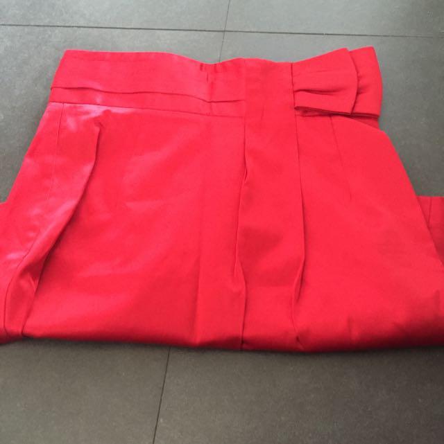 Forever 21 Satin Skirt Size S