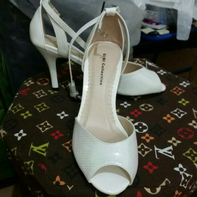 eda202148db Gibi White Heels Shoes