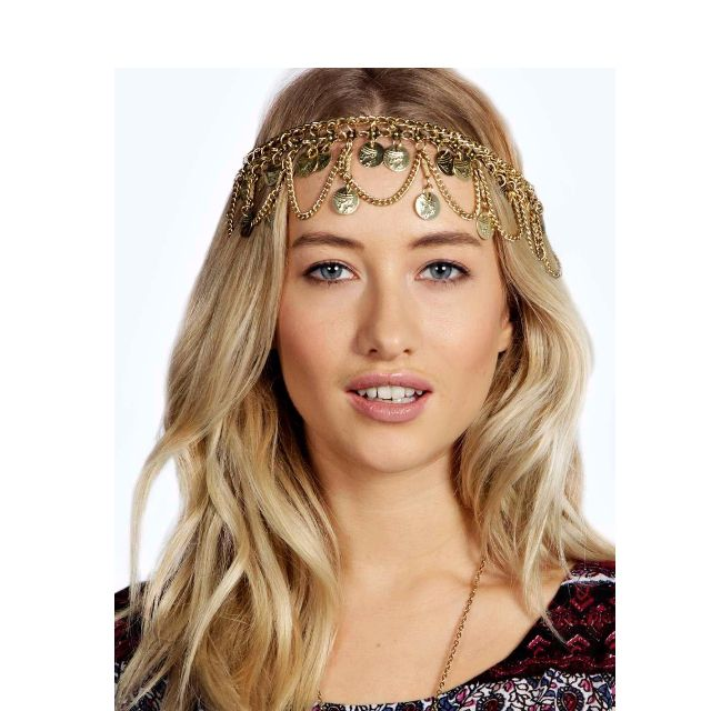 Gold Coin Headchain / Necklace