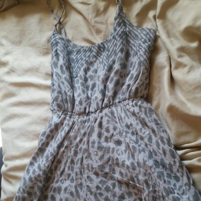 Grey Dress Size Small