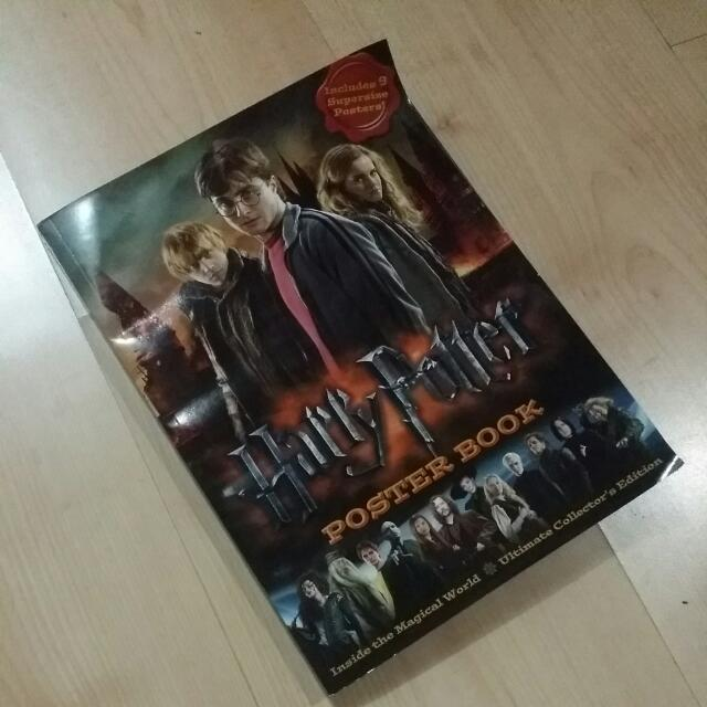 Harry Potter Poster Book