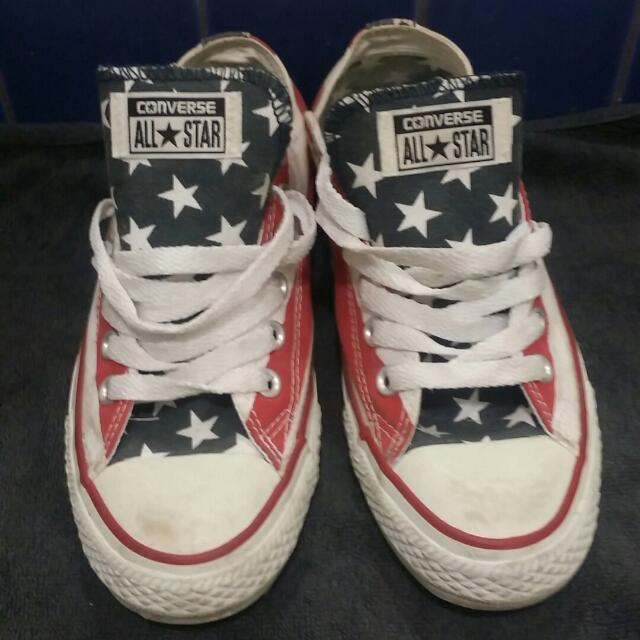 Heaps Of Converse All Star Shoes sneakers Size 7 And 8