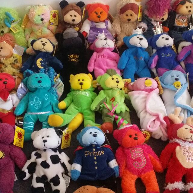 Mint Condition Beanie Kids And Cuddly Kids Collectables