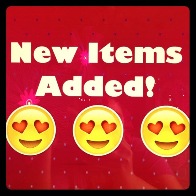 New Items Have Been Added!