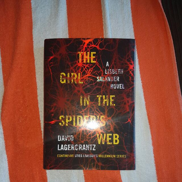 New. The Girl In The Spider's Web.