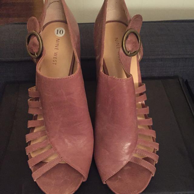 Nine West Rose Pink Heels