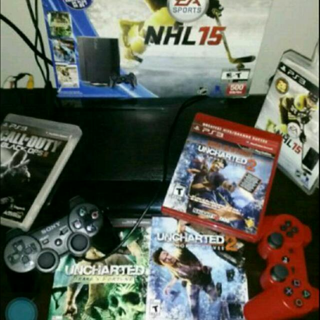 PS3 + 5 GAMES