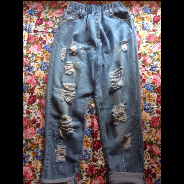 Ripped Jeans / Jeans Robek