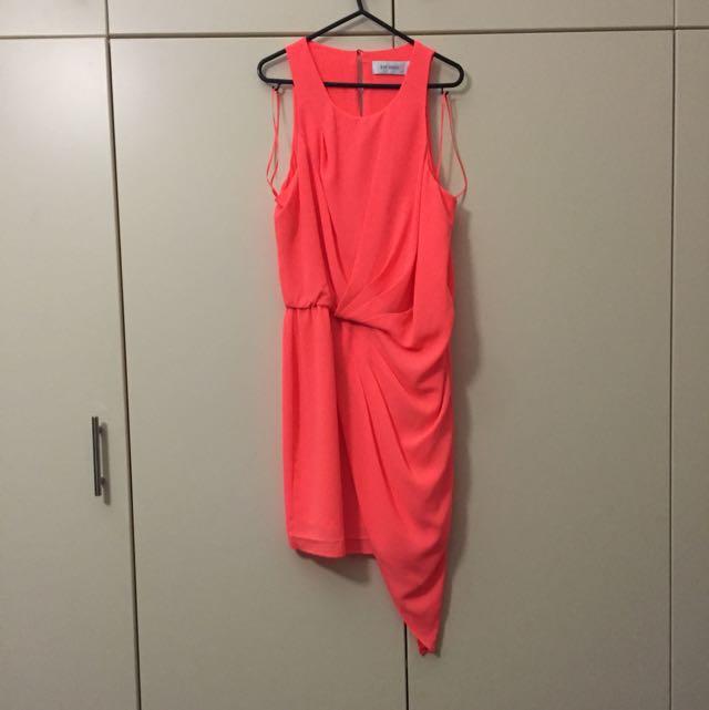 Seduce Orange Dress