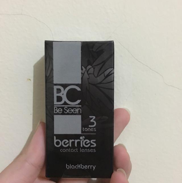 Softlense Omega Berries BC 3 Tones Grey
