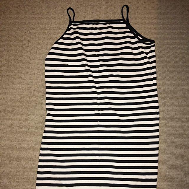 Striped Tube Dress