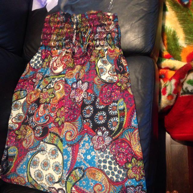 Suzy Halter Dress Size Large