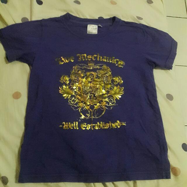 童裝紫色T恤