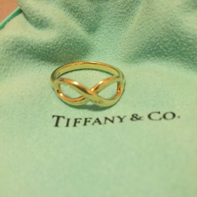 Tiffany And Co Infinity Size:7 N1/2