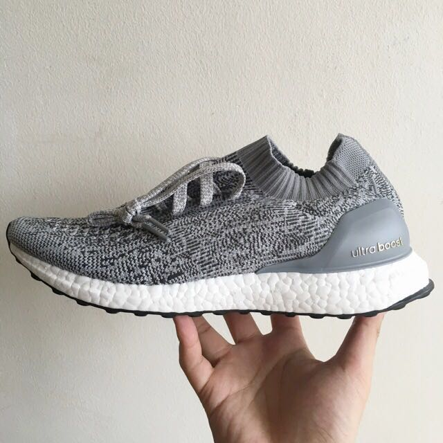 ec1c57e2109ad ... discount us 9.5 adidas ultra boost uncaged gray pricecut mens fashion  footwear on carousell a4476 943cf